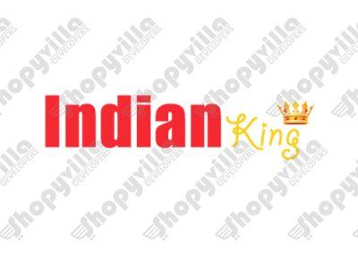 Indian king logo