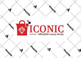 Iconic Shopping bag Logo